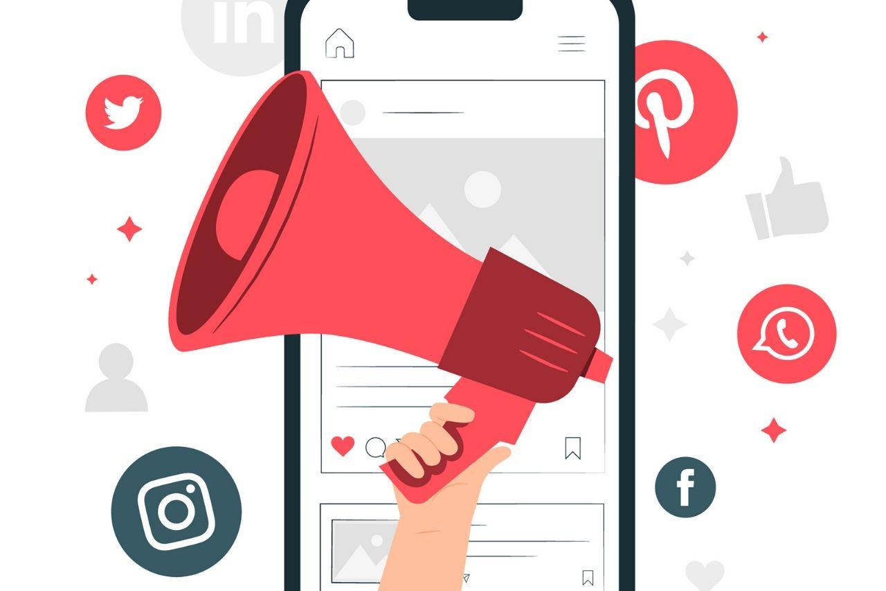 Alcance de público em anúncios em redes sociais