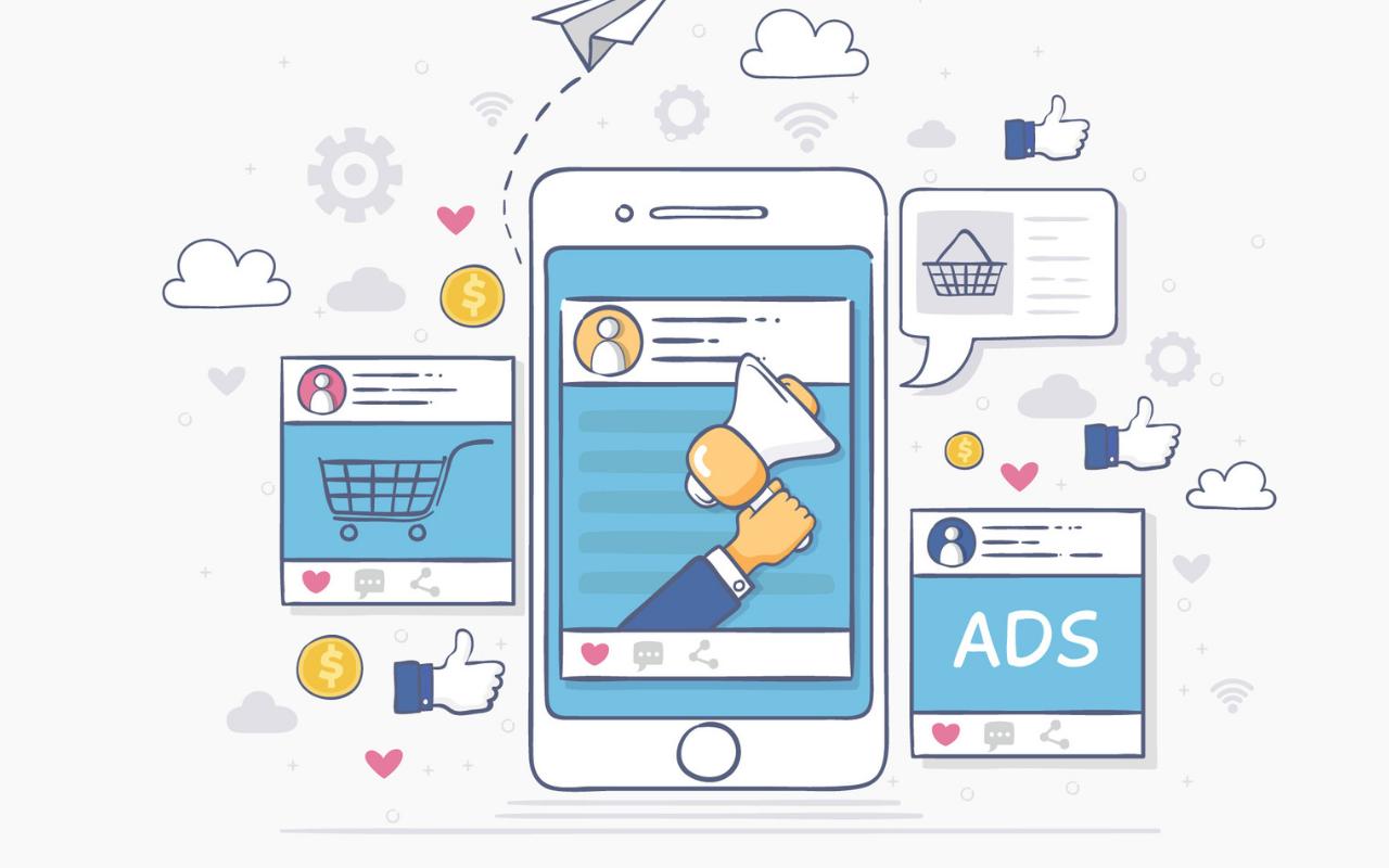 imagem mostrando o Facebook ads